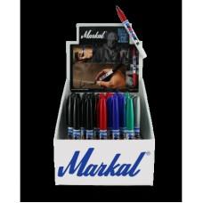 Набор перманентных маркеров с тонким круглым наконечником Markal Dura-Ink 15, 44 шт 199006