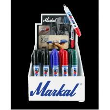 Набор перманентных маркеров с клиновидным наконечником Markal Dura-Ink 55 Display, 25 шт 199008