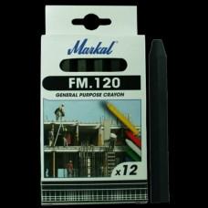 Универсальный промышленный маркер на основе воска Markal FM.120 Чёрный 44010600