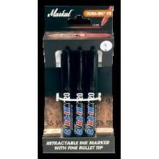 Набор перманентных водостойких маркеров Markal Dura-Ink 20 RETAIL PACK 3*Черных 22251