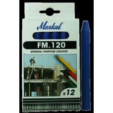 Универсальный промышленный маркер на основе воска Markal FM.120 Синий 44010400