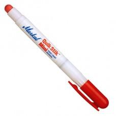 Маркер на основе быстросохнущей твердой краски с винтовым механизмом Markal Quik Stik Mini Paintstik, Красный 61128