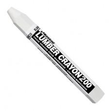 Универсальный мягкий карандаш на основе воска.Markal Lumber Crayon 200,Белый 80350