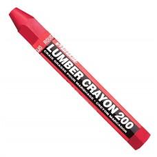 Универсальный мягкий карандаш на основе воска.Markal Lumber Crayon 200,Красный 80352