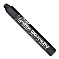 Универсальный мягкий карандаш на основе воска.Markal Lumber Crayon 200,Черный 80353