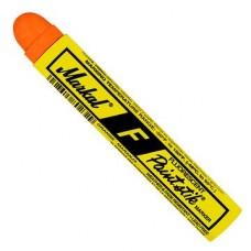 Маркер - карандаш с твердой краской Markal F Paintstik,Флуоресцентный Оранжевый 82834