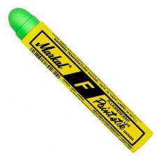 Маркер - карандаш с твердой краской Markal F Paintstik,Флуоресцентный Зеленый 82836