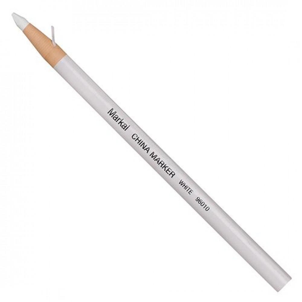 Карандаш в бумажной обертке Markal China Marker, Белый 96010