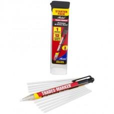 Универсальный механический маркер Markal Trades-Marker Starter Pack, Белый 96130