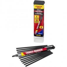 Универсальный механический маркер Markal Trades-Marker Starter Pack, Черный 96133