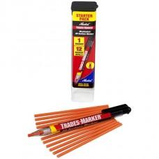 Универсальный механический маркер Markal Trades-Marker Starter Pack, Оранжевый 96137